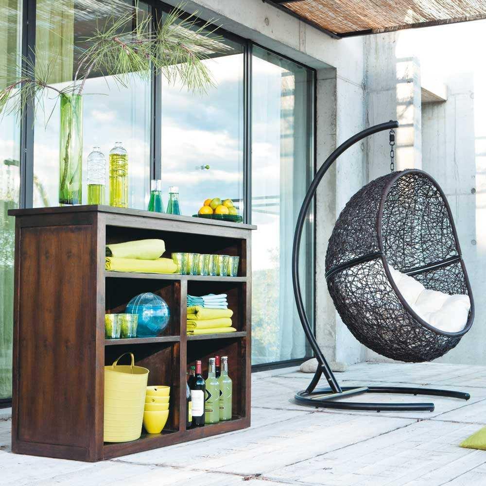 Новый дизайн ротанга сад открытый <span class=keywords><strong>качели</strong></span> стулья плетеные мяча уличная мебель