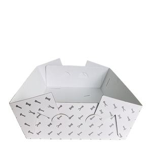 Simple New Arrival Big Custom Made Beautiful Flower Corrugated Cardboard Paper Mailer Box 5 Layer