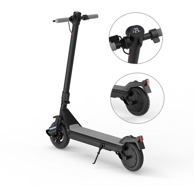 Europe Warehouse Drop Shipping Outdoor Mobility Folding Double Shock Absorber Electric Scooter