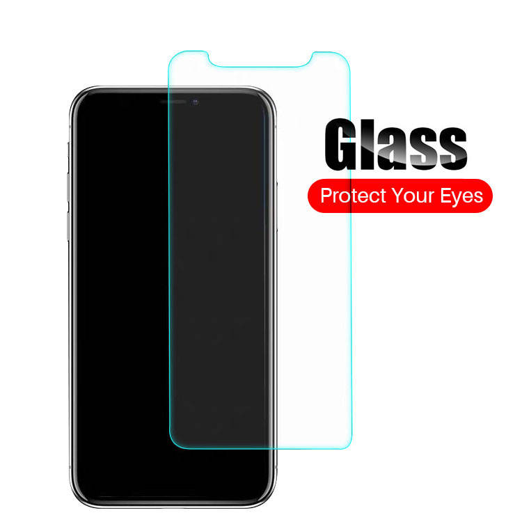 Wholesale Promotion Factory Price Anti Scratch 2.5D 0.33mm Anti Blue Light For iPhone 12 Tempered Glass Screen Protector