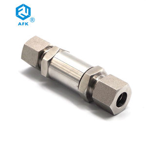 stainless steel high pressure gas tube filter Check valve