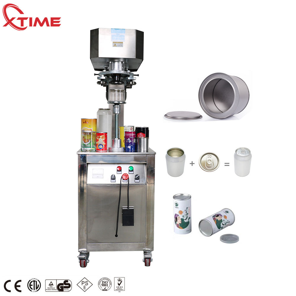 Semi automatic can sealing machine manual/beer can seamer