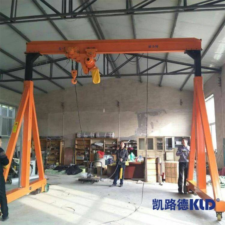Overseas Service 2T Control Good Quality Gantry Crane Suppliers For Outdoor Processing And Material Handling