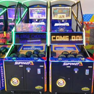coin operated basketball game shooting arcade game machine for sale