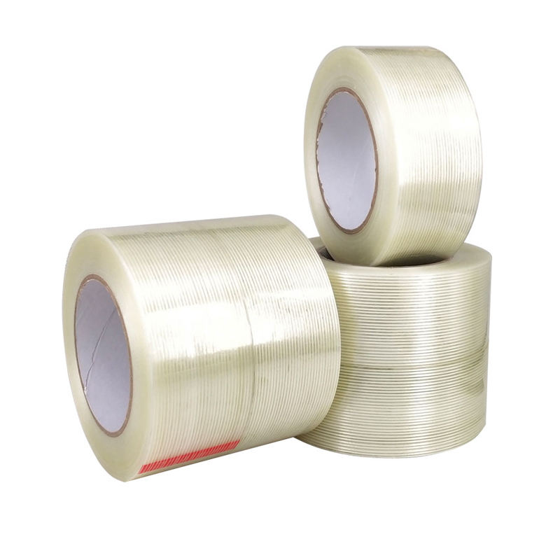 Hot Sale Self Adhesive Reinforced Mono Fiberglass Filament Carton Tape for Packing