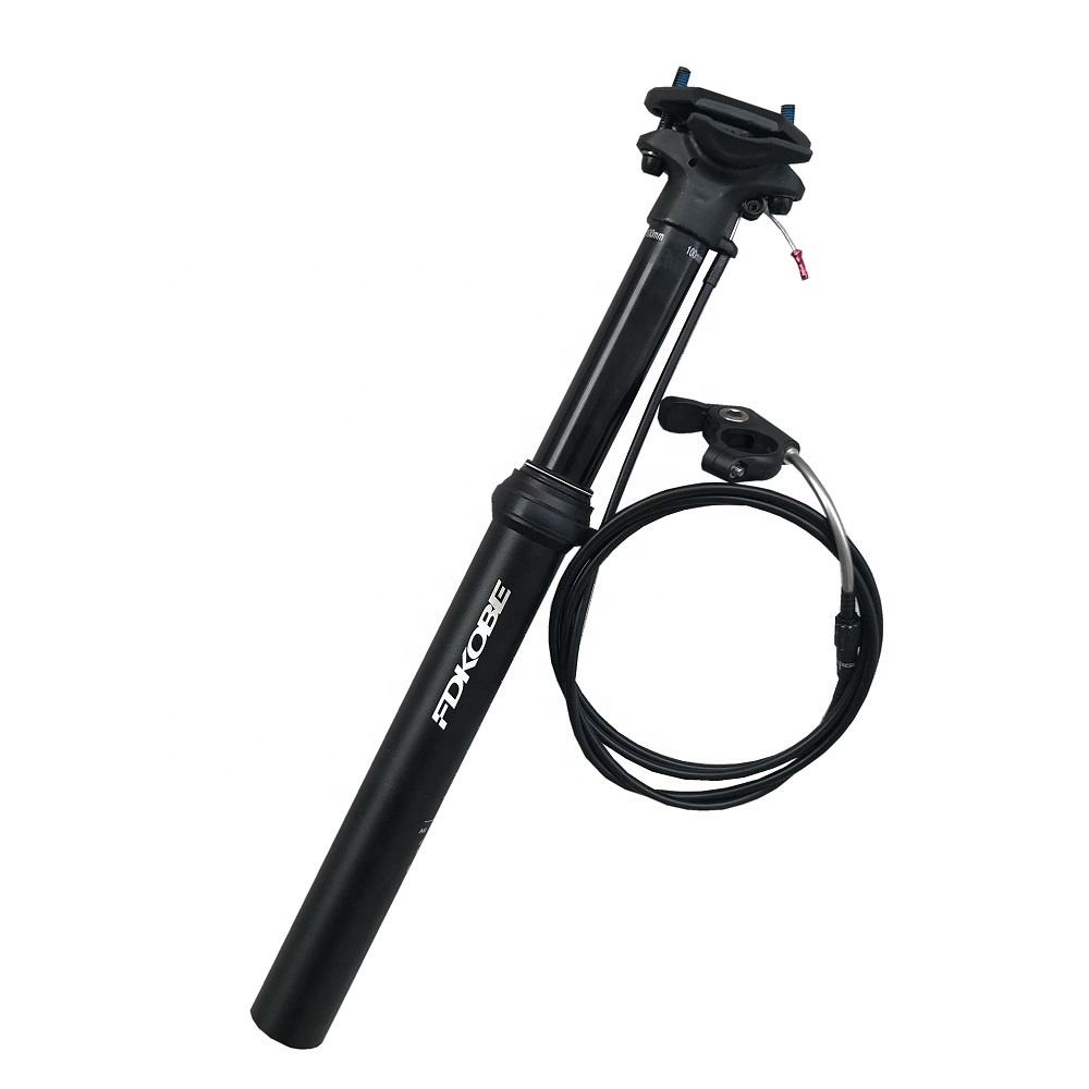 Bike 7075 Alloy seat post Adjustable Seatpost 30.9/31.6mm Remote Control Dropper Seatpost