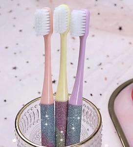 Private label natural Star dazzle colour COVERGIRL soft toothbrush