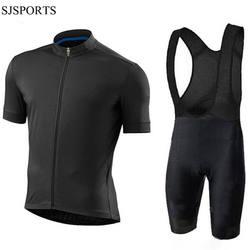 Custom Team Cycling Jersey Shirt tops Bibshorts Set DIY Bike Club Clothing Bicycle Short Sleeve Jersey Mens Bib shorts
