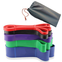 Rubber fitness  resistance  Band Elastic latex Bands Loop Expander for Exercise Sports Equipment
