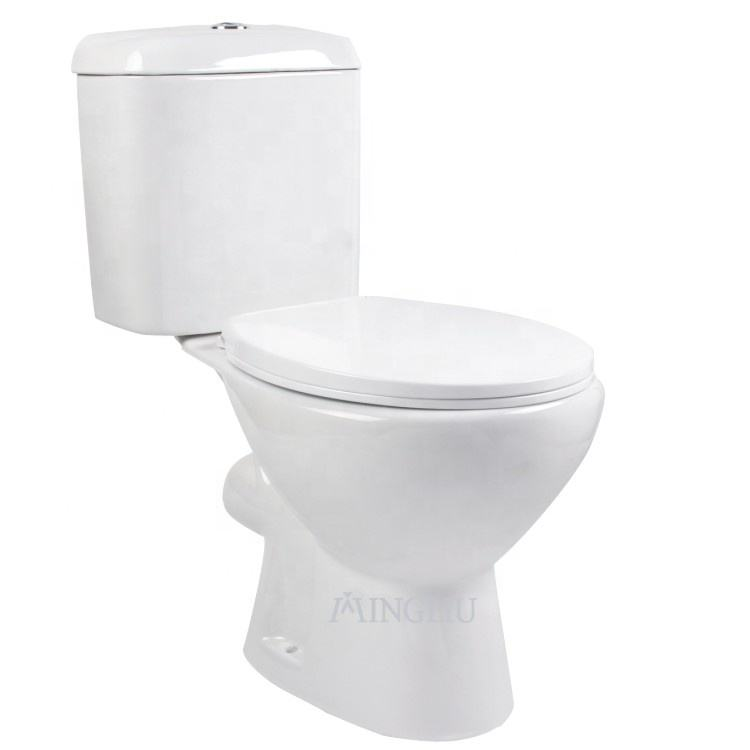 Good price sanitary ware ceramic washdown two piece wc toilet