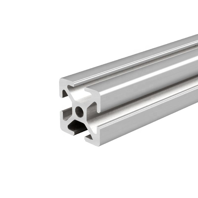 OB2525A clear anodized Aluminum profile led aluminum profile structural frame aluminum extrusion profile make door and window