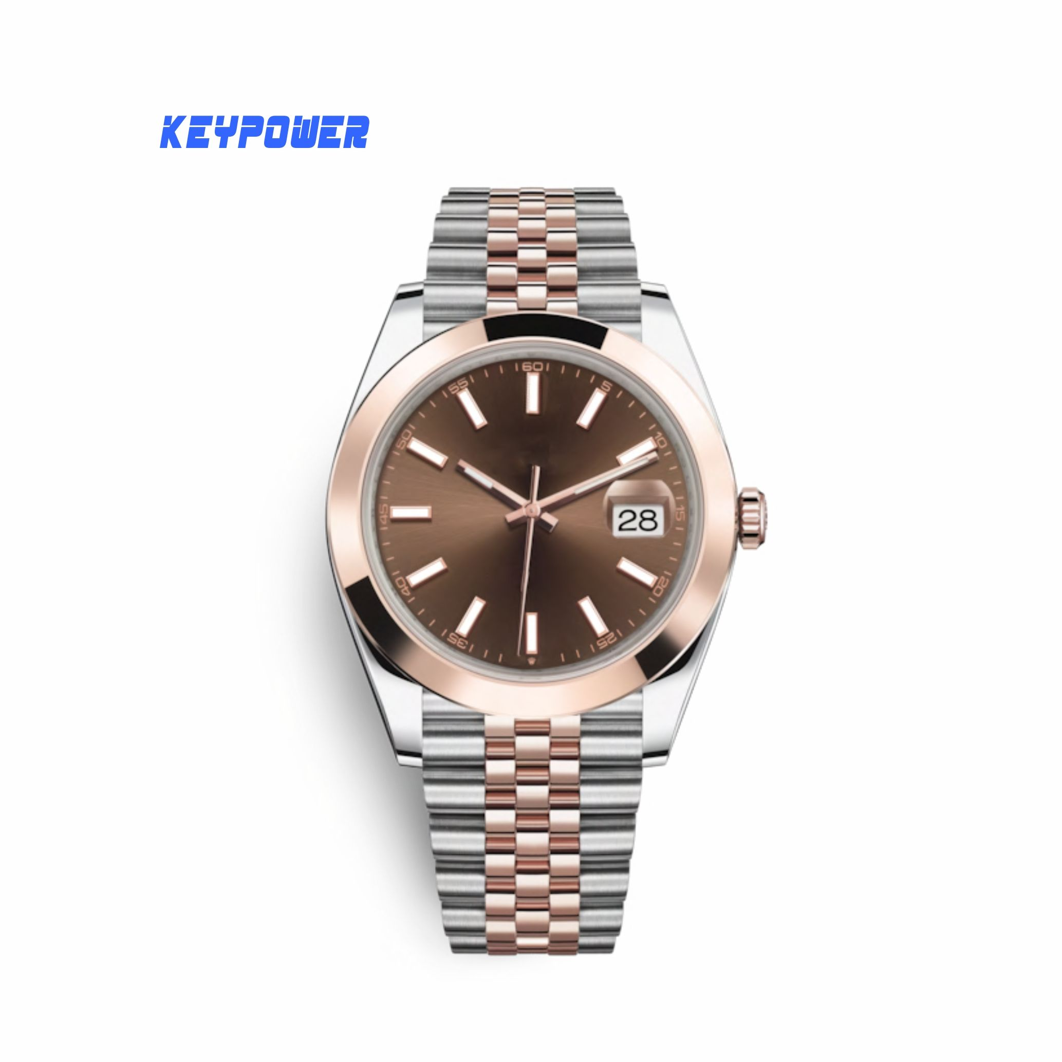OEM Watch Factory Hot Selling Alloy Case SS Band Luxury Watch