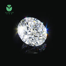 0.01-2.0 carat white synthetic hpht cvd lab grown loose diamond