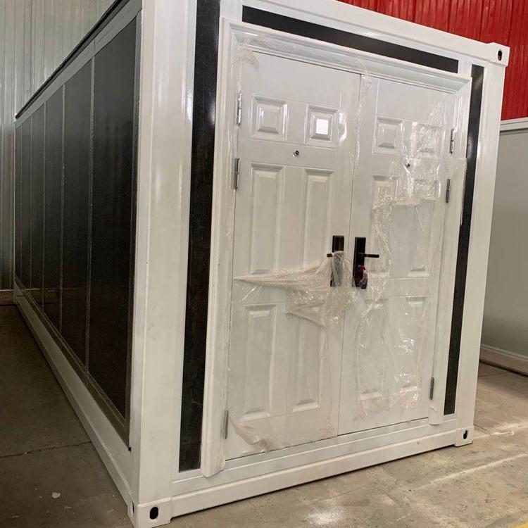 Prefabricada de la nave de almacenamiento casa contenedor expandible 20 ft 40 ft