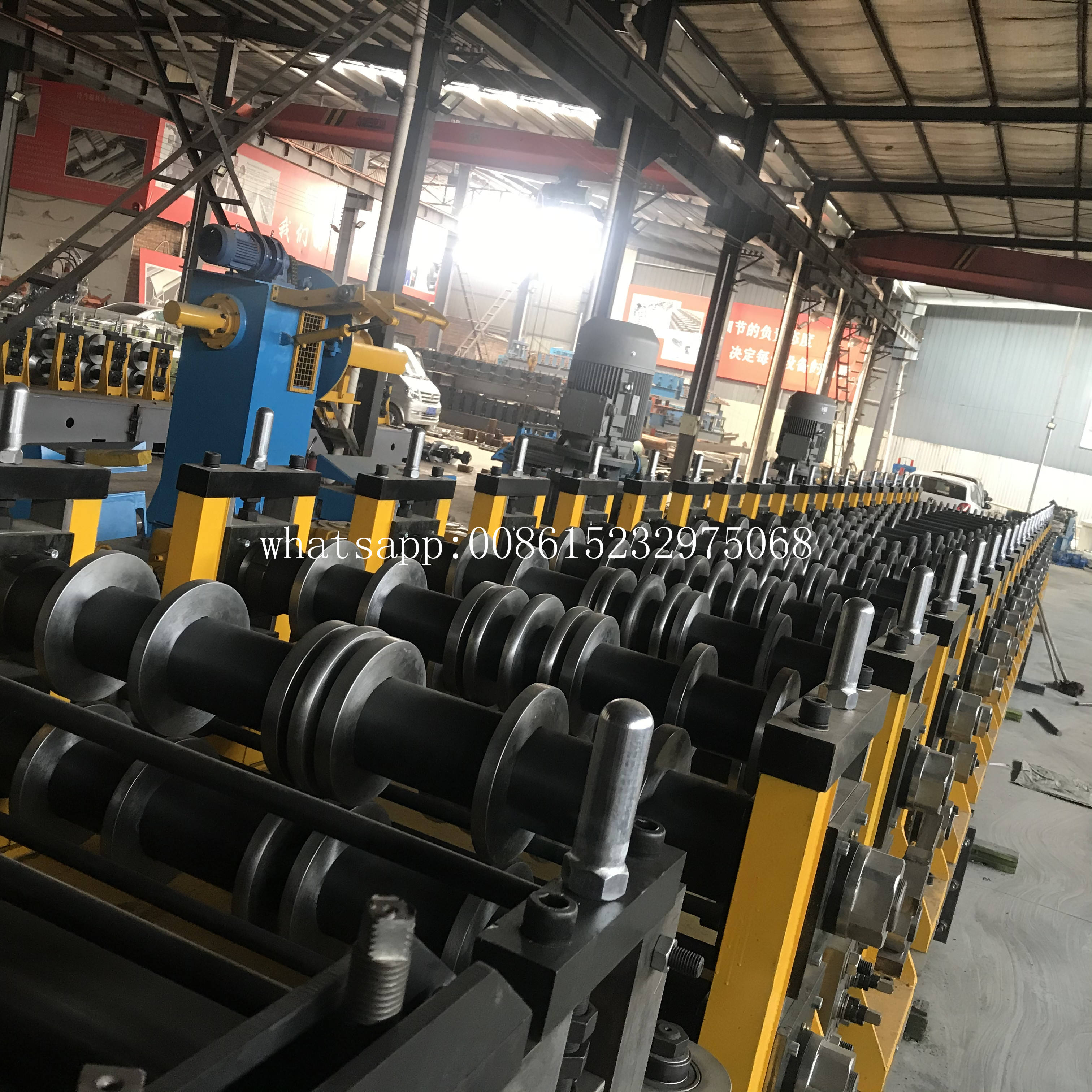 Silo Forming Machine Steel Silo Roll Forming Machine For Sale Providing Overall Silo System Solution