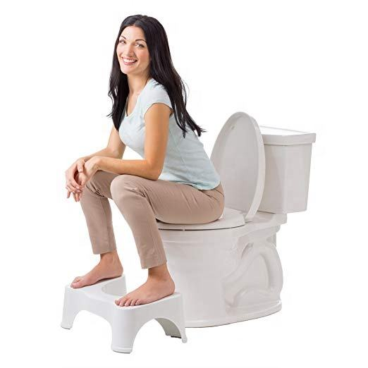 Multifunction Two Different Sizes Adult And Children Plastic Thickened Bathroom Toilet Step Stool