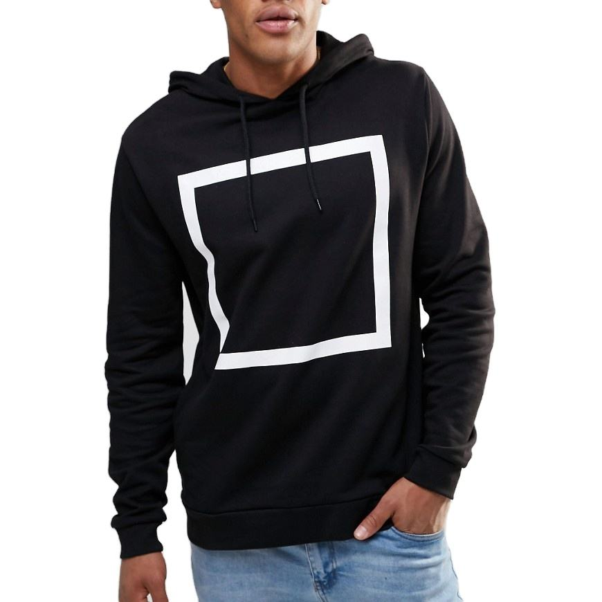 Men's Skateboard Hoodie Men Printed Hip Hop Sweatshirt