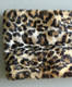 100% ACRYLIC FAUX FUR ANIMAL PRINTING INFINITY SCARF WITH NYLON SATIN LINING FOR WOMEN'S