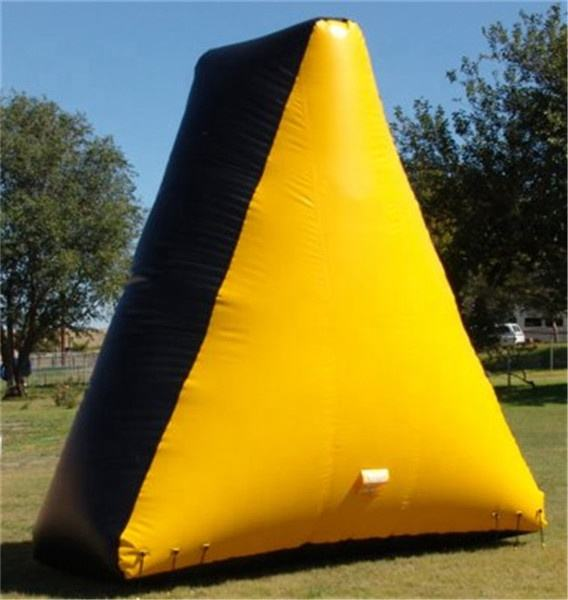 จีนProfessional Inflatable paintball Field,paintball BUNKERชุด