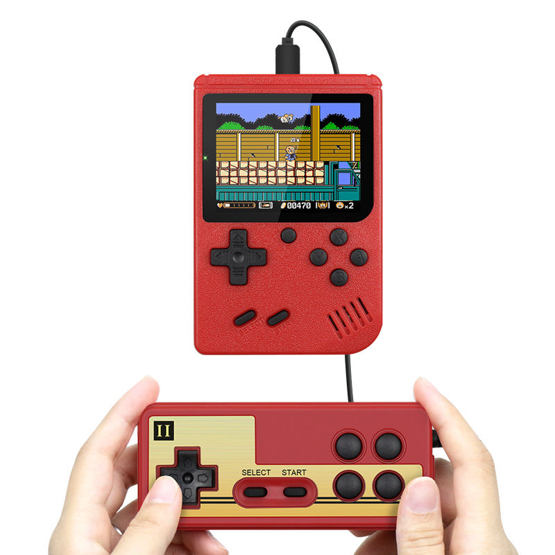 400 Games MINI Portable Retro Video Console Handheld Game Advance Players Boy 8 Bit Built-in Gameboy video game console
