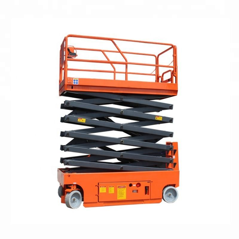 Self Propelled Small Mini Electric Lift Tables Scissor Lift Platform Hydraulic Scissor Lift