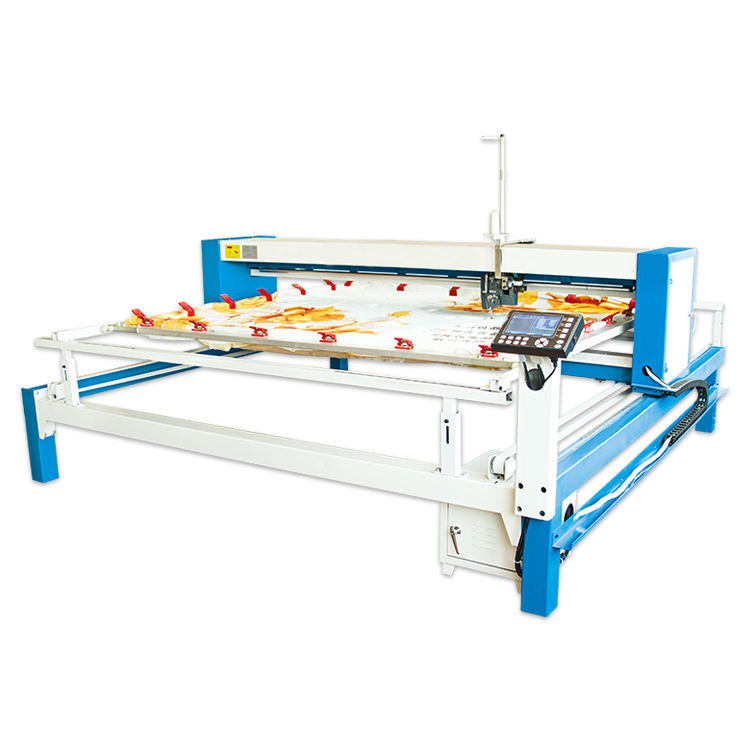 Chain Stitch embroidery quilting sewing machine for quilt Industrial computerized single multi needle quilting machine