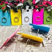 Good Selling Promotional Gifts Mobile Phone Card Holder Silicone Phone Accessories