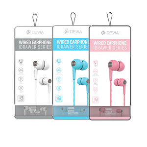 Devia universal 8 in 1 china low price 3.5mm wired earphone headphone headset