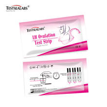 Testsealabs LH Ovulation Rapid Test One Step Pregnancy Test Strips Urine Test for Home Use