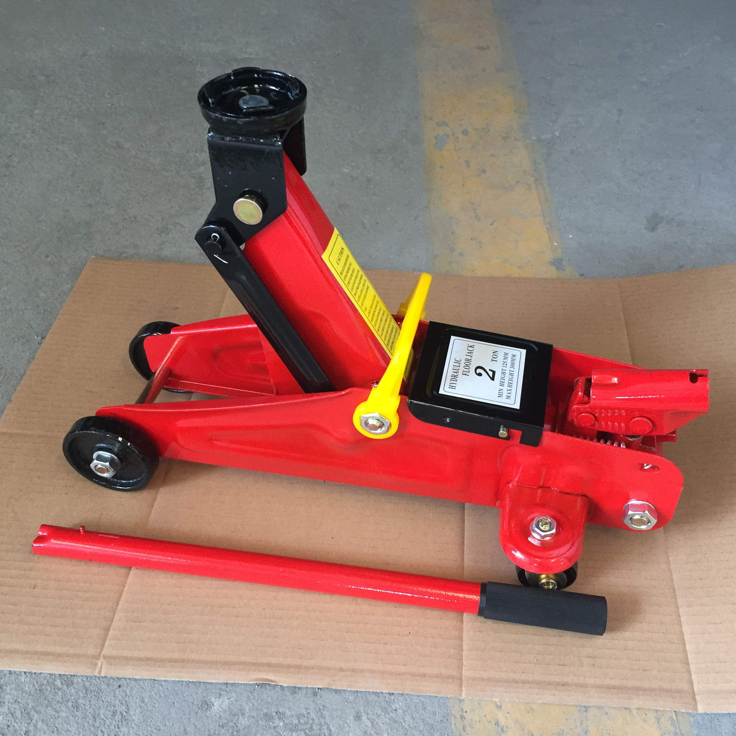 Atli Auto using 2 ton labor saving mobile car lifting allied floor jack parts trolley jack hydraulic jack with pressure gauge