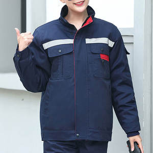2020 Wholesale Customized Work Suit Fall Winter Labor Insurance Clothing Factory Shop Auto Repair Overalls Cotton Clothes