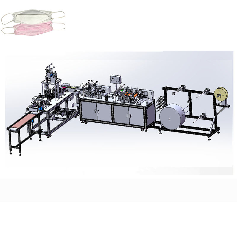 China factory fully automatic mask making machine