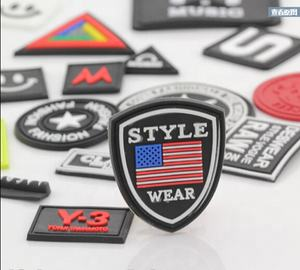 China factory Price Heat Press Patch iron on patch Custom Woven Patch
