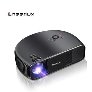 2020 Upgrade CHEERLUX Native Resolution 1920*1080p CL760 Home Theater Projector LED LCD Portable Proyector