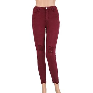 2020 spring fall women candy pants pencil trousers stretch pants for women slim ladies