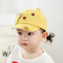 2020 New Arrival Cotton Baby hat Cartoon Baseball cap for 6-18 months Baby Wholesale