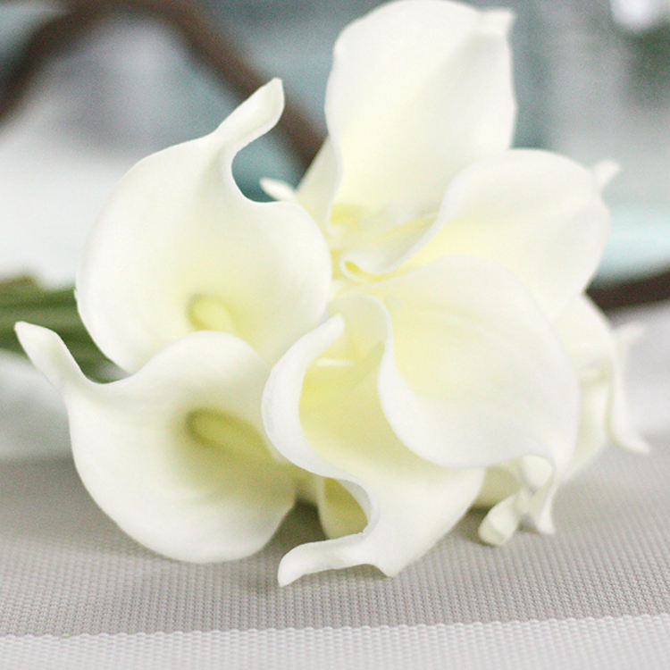 Cheap Single Stem Artificial flower calla lily For Home Office Decoration