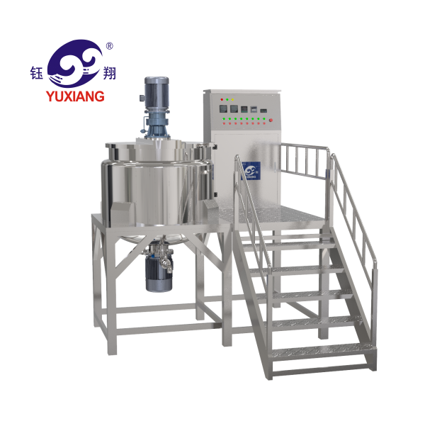 Yuxiang liquid soap cosmetic product multifunctional automatic making machine cheap price