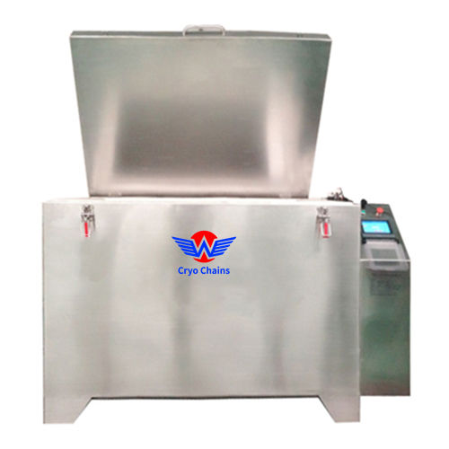 80kg-1500kg Capacity Low Temperature Deep Freezer Cryogenic Treatment Machine of Cutting Tools For Genetic Biological Engine