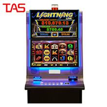 Arcade Video Lottery Dual Screen Upright Cabinet Game Table Slots
