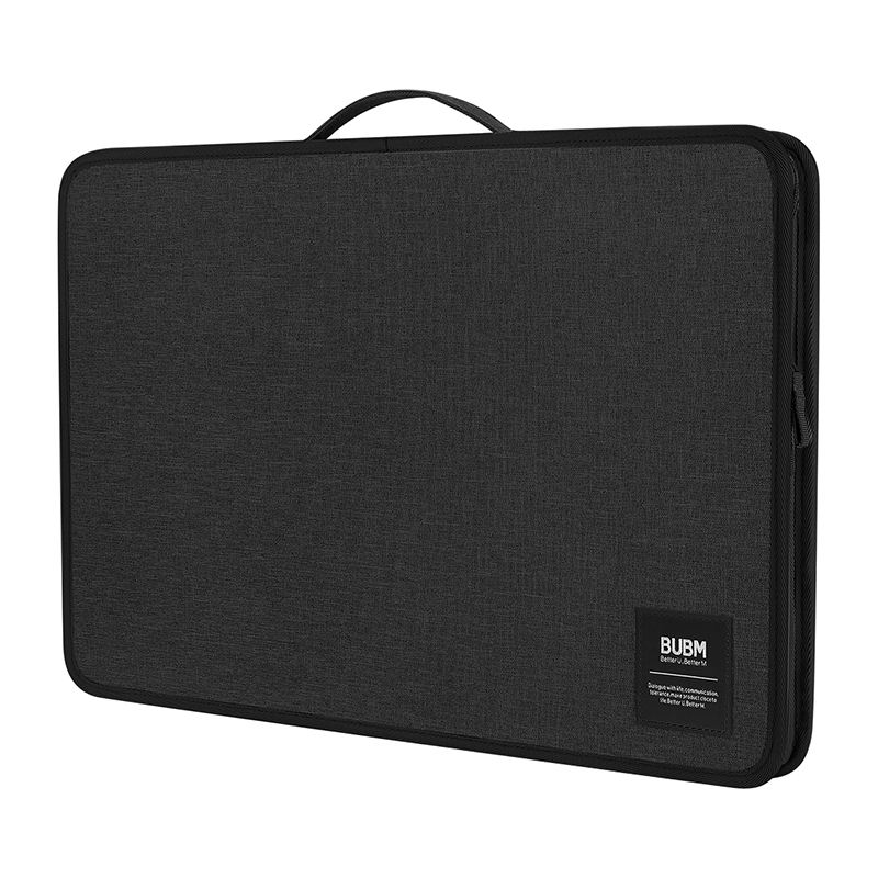 Bubm Hard Shell Polyester Stof Met Handvat Mesh Grote Licentie <span class=keywords><strong>Document</strong></span> Certificaat Zip Papier Map Cover Holder Case