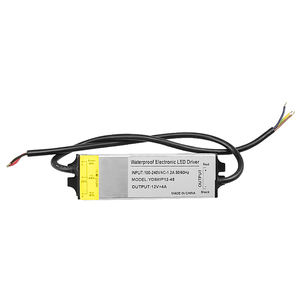 12V 4A 48W Tahan Air Led Massal Driver Power Supply untuk Led