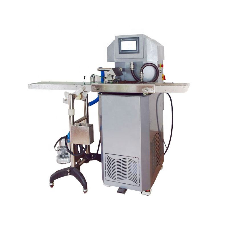 Handmade continuous chocolate enrobing molding automatic chocolate tempering machine