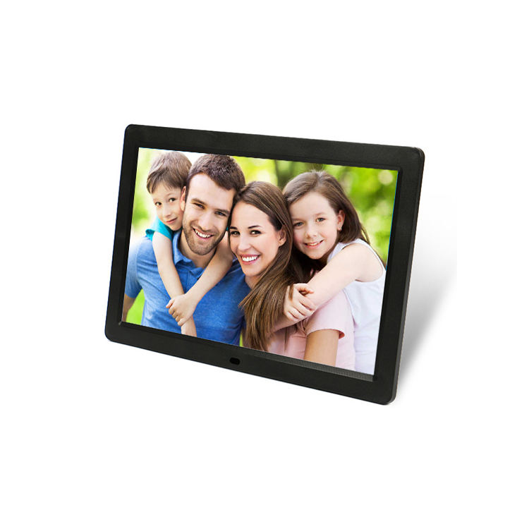 10 inch LED screen display slim digital photo picture frame for video picture looping