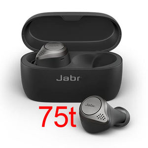 Stereo Bluetooth 5.0 Earphones Noise Cancelling Wireless Headphones For Jabra Elite 75t TWS Earbuds