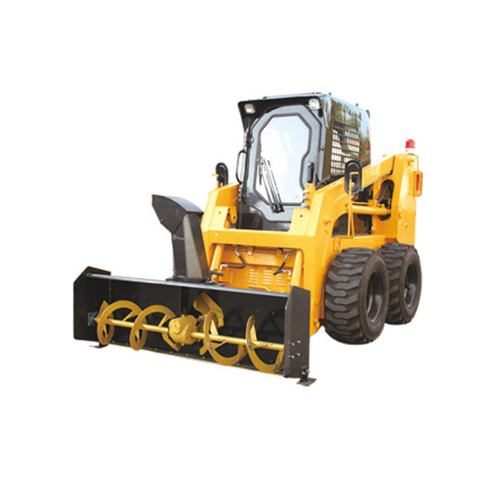 Road trimming machine snow blower skid steer loader CSS750 with factory price