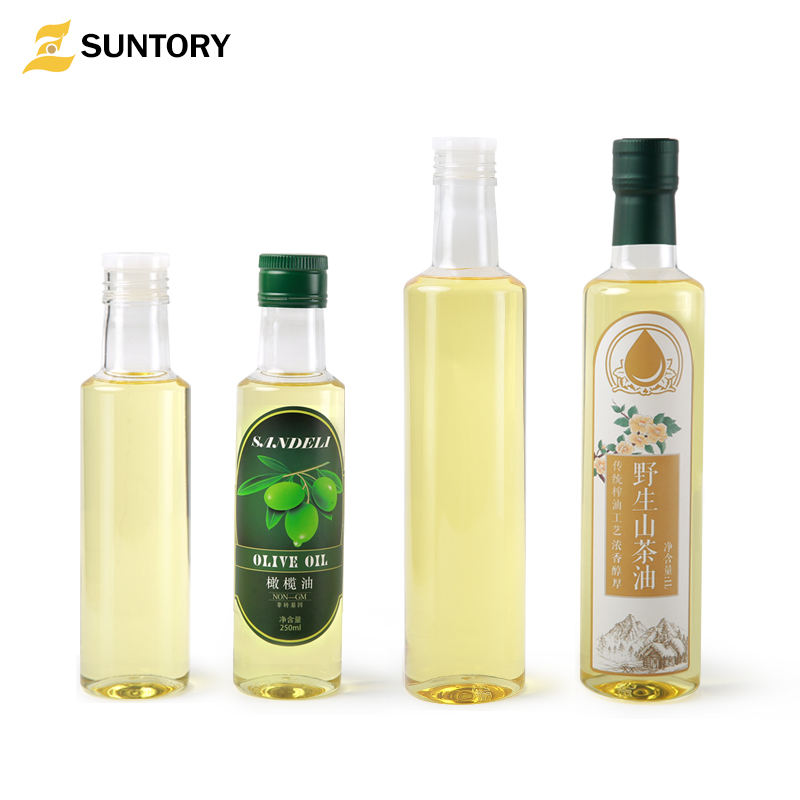 High grade olive oil / avocado oil / vegetable oil for kitchen use plastic packing bottle PET type jars