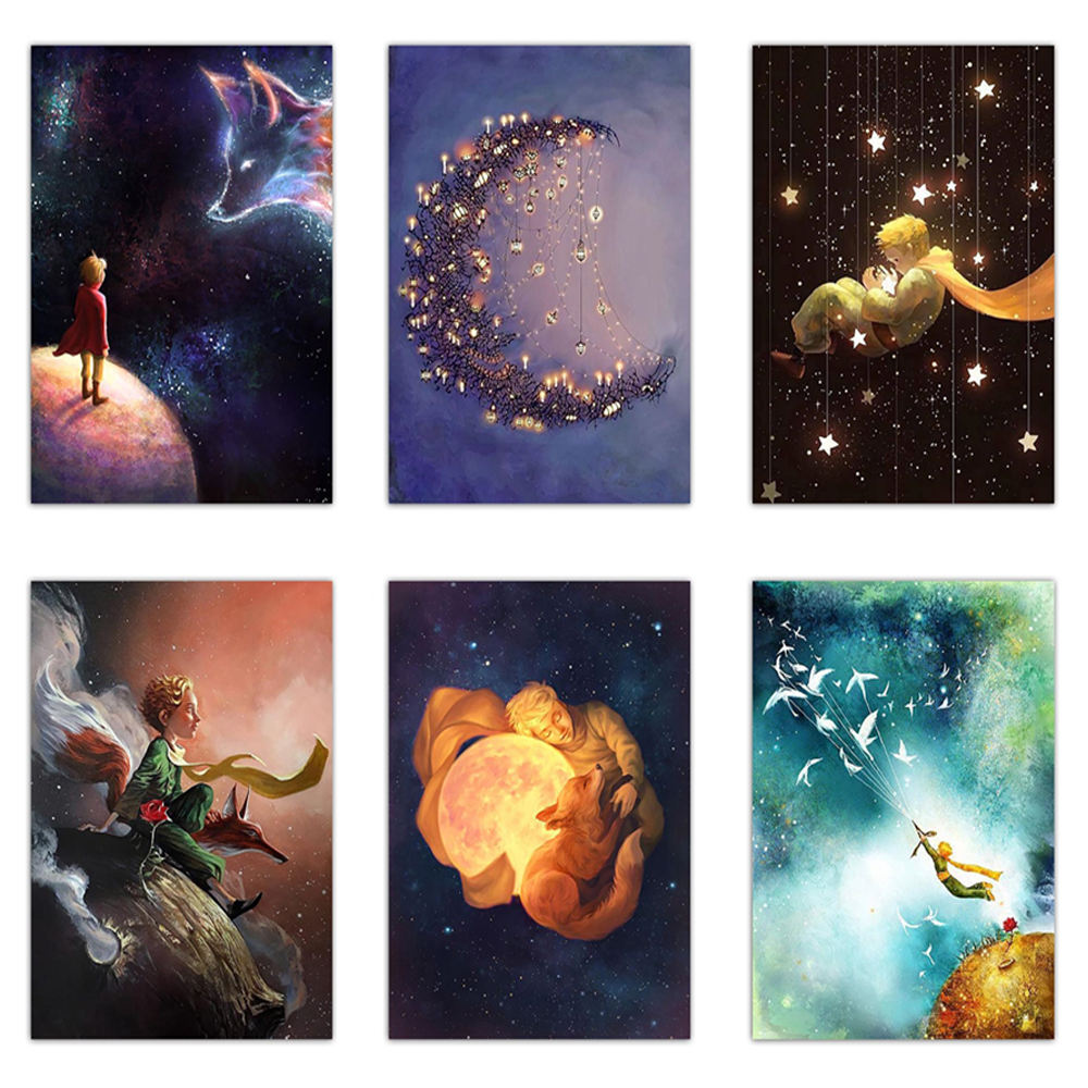 5D diy diamond painting cartoon little prince poster art diamond embroidery cross stitch kit mosaic picture home decoration gift