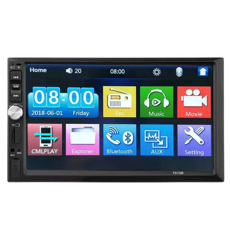 7 Inch 2 Din Auto Stereo In Dash Ontvanger Met Auto Radio Gps Navigatie Touchscreen <span class=keywords><strong>Cd</strong></span>/Dvd Speler Auto muziek Stereo