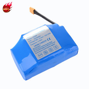 High quality cheap price 10s2p 36v 4.4ah li-ion battery pack for hoverboard e-scooter